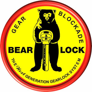 bear lock logo